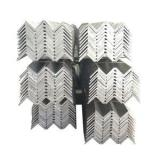 galvanized angle with hole weight of galvanized iron 60*60*6mm angle steel