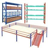 Chinese Supply Industrial Warehouse Racking System Storage Shelving