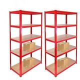 integrated industrial shelving rack with high quality and heavy duty capacity